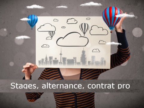 Stage, alternance, contrat pro : un critère pour choisir votre école privée de communication et publicité et vous préparer à ses épreuves