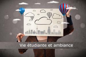La vie étudiante et l'ambiance : un critère pour choisir votre école privée de communication et publicité et vous préparer à ses épreuves